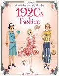 1920s Fashion Historical Sticker Dolly Dressing