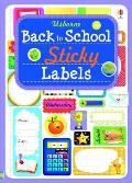 Back To School Sticky Labels
