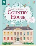 Dolls House Sticker Book Country House