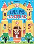 Make a Picture Sticker Book Castles