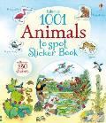 1001 Animals To Spot Sticker Book