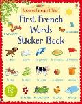 Farmyard Tales First French Words Sticker Book