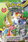 Pokemon Adventures Diamond and Pearl Platinum, Volume 9