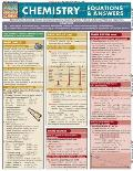 Chemistry Equations & Answers Laminated Reference Chart