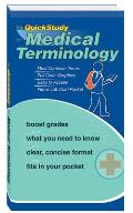 Quickstudy Medical Terminology Laminated Reference