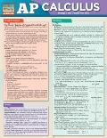 AP Calculus AB & BC Exam Prep Laminated Reference