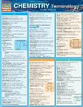 Chemistry Terminology Laminated Reference