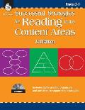 Successful Strategies for Reading in the Content Areas: Grades 3-5 [With CDROM]