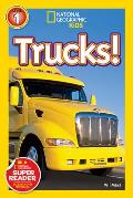 Trucks National Geographic Kids Level 1