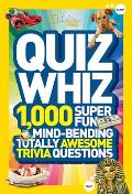 National Geographic Kids Quiz Whiz 1000 Super Fun Mind bending Totally Awesome Trivia Questions