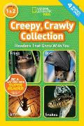 National Geographic Readers Creepy Crawly Collection