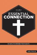 Essential Connection: 90 Days of Devotions for Students - Volume 3