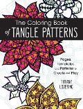 Coloring Book of Tangle Patterns
