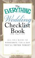 Everything Wedding Checklist Book