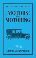 Motors and Motoring 1916