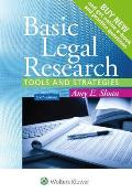 Basic Legal Research Tools & Strategies