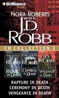 J D Robb CD Collection 2 Rapture in Death Ceremony in Death Vengeance in Death