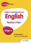 Hodder Cambridge Primary English: Teacher's Pack Stage 3