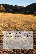 Startup Business Templates in a Box