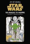Art of Coloring Star Wars 100 Images to Inspire Creativity & Relaxation