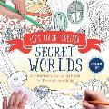 Lets Color Together Secret Worlds A Shareable Coloring Book for Parents & Kids