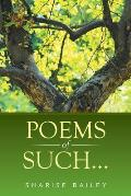 Poems of Such...