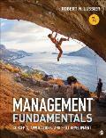 Management Fundamentals Concepts Applications & Skill Development