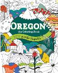 Oregon The Coloring Book