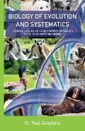 Biology of Evolution and Systematics: Cohesive, Concise, Yet Comprehensive Introduction for Students and Professionals