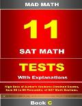 11 SAT Math Tests with Explanation Book C
