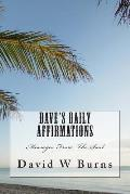 Dave's Daily Affirmation