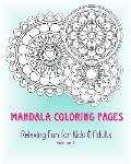 Mandala Coloring Pages: Relaxing Fun for Kids & Adults