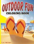 Outdoor Fun Coloring Book