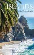 Islands Weekly Planner 2016: 16 Month Calendar