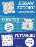 Jigsaw Sudoku, Sudoku & Futoshiki: 150 of the Very Best Mixed Sudoku Puzzles
