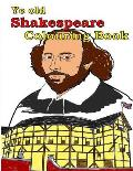 Ye Old Shakespeare Colouring Book: Make Leaning Fun.