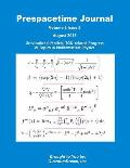 Prespacetime Journal Volume 6 Issue 8: Gravitational Models, Tgd-Related Progress & Topics in Mathematical Physics