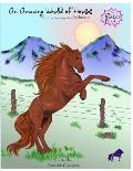 Amazing World of Horses: Vol. #1 Poster Book