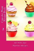 Cupcakes Blank Recipe Book