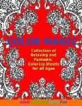 Color Magic: Collection of Relaxing and Fantastic Coloring Sheets for All Ages