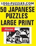50 Japanese Puzzles - Large Print