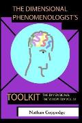 The Dimensional Phenomenologist's Toolkit: A Set of Vital Abstracts on the Phenomenal World