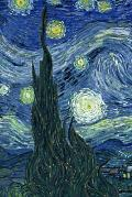 Vincent Van Gogh Starry Night Journal: 160 Page Lined Journal/Notebook