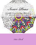 Inner Peace, Volume 2: Adult Coloring Book - 55 Mandalas