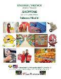 Anglais / Francais: Courses & Shopping: Version Noir & Blanc