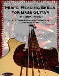 Music Reading Skills for Bass Guitar Level 3