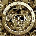 Clocks Calendar 2016: 16 Month Calendar