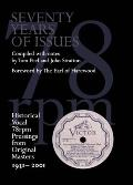 Seventy Years of Issues: Historical Vocal 78rpm Pressings from Original Masters 1931-2001
