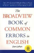 Broadview Book Of Common Errors
