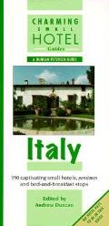 Charming Small Hotel Guide Italy 7th Edition